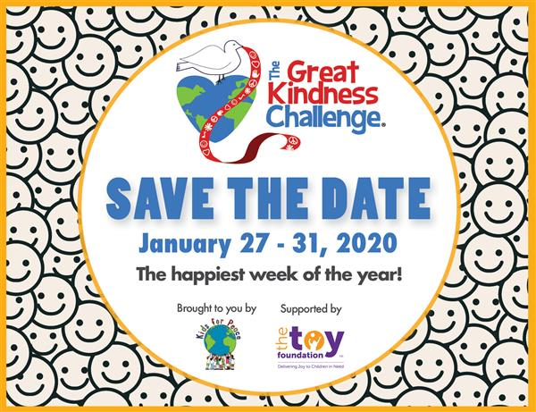 The Great Kindness Challenge - Begins January 27th