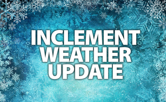 INCLEMENT WEATHER - Early Dismissal on February 20th
